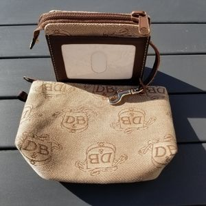 Dooney and Bourke cosmetic and id case